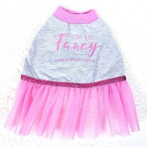 Top Paw Pink Tutu dress for dogs